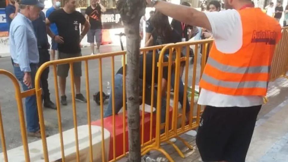 Σοκαριστικό βίντεο από το PICK Patras – Καρέ καρέ η στιγμή του ατυχήματος  με το καρτ – Alpha Πάτρας